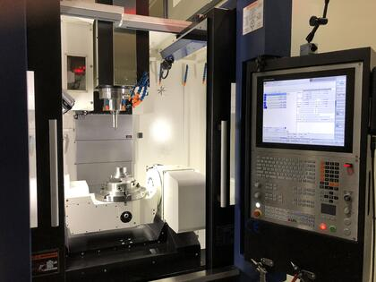 CNC Milling Machine for machining complex shapes